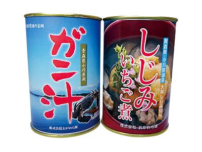 ガニ汁・しじみいちご煮の 詰め合わせ