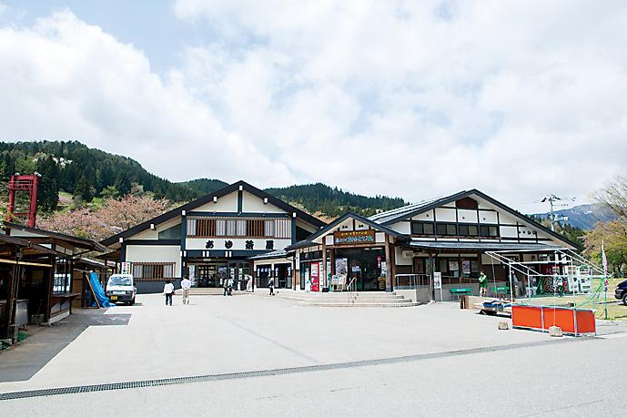 道の駅白鷹ヤナ公園