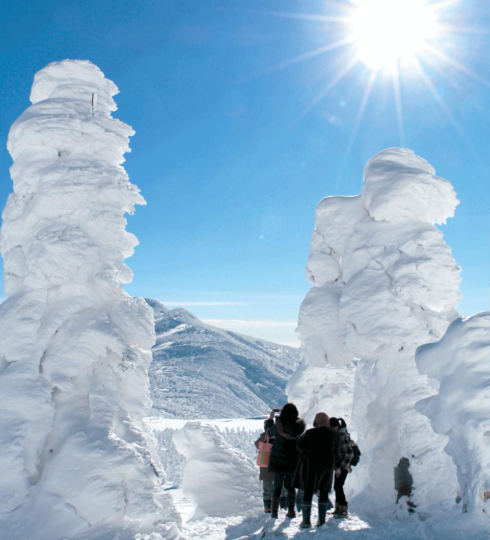みやぎ蔵王の樹氷めぐり