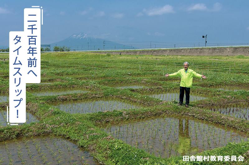 体験田を案内する「田園」未来を築く会の小野正幸会長