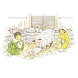 【啓蟄】いわて暮らしの季節暦【子羊】